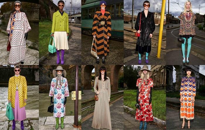 Gucci δημιουργίες από την τελευταία συλλογή, φθινόπωρο 2020.