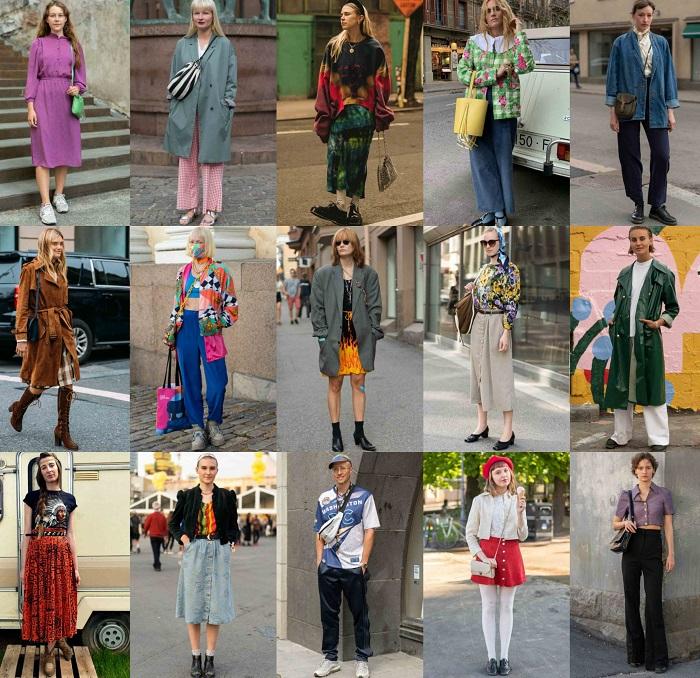 Η ικανότητα του vintage στυλ να προσδίδει αυθεντικότητα σε κάθε street εμφάνιση.