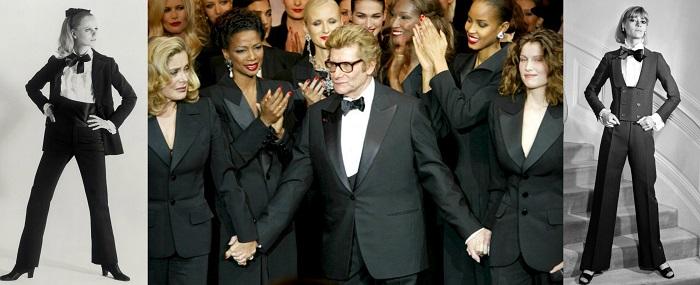 Le Smoking Tuxedo : Η αρχή και το τέλος δια χειρός Yves Saint Laurent (1966-2002).