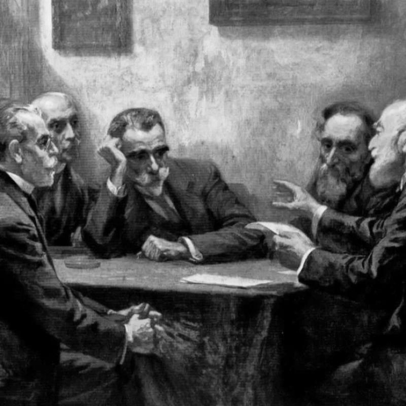 Κωστής Παλαμάς και άλλοι ποιητές στην Αθηναϊκή Σχολή