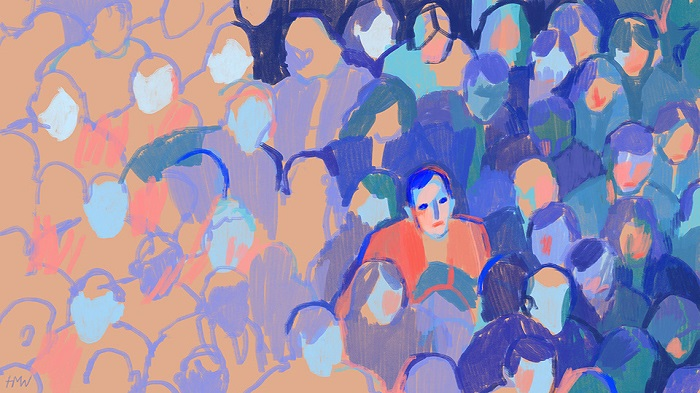 Holly Warburton- Face in the crowd