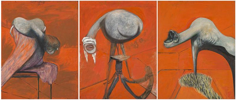 Ο Francis Bacon ήθελε τα έργα του να μοιάζουν σαν ένας άνθρωπος να τα έχει διαπεράσει, σαν αναμνήσεις παρελθοντικών γεγονότων.
