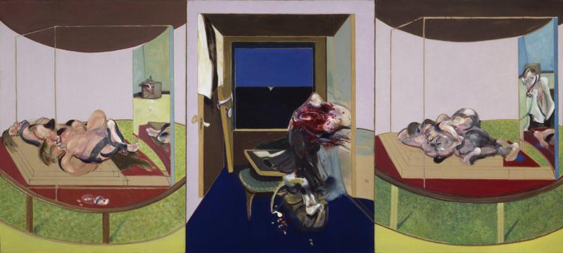 Ο Francis Bacon ήθελε τα έργα του να μοιάζουν σαν ένας άνθρωπος να τα έχει διαπεράσει, σαν αναμνήσεις παρελθοντικών γεγονότων
