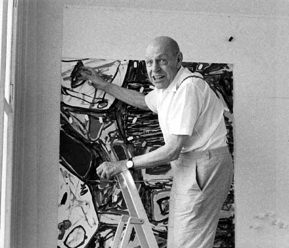 O καλλιτέχνης Jean Dubuffet