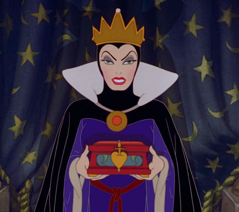 H Βασίλισσα, Snow White and the seven dwarfs, 1937