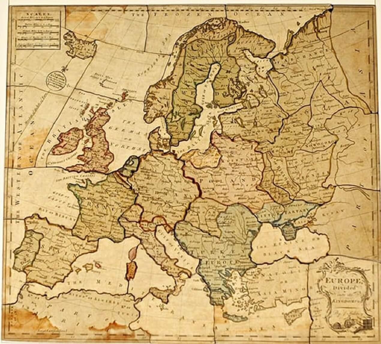 Εurope Divided 1762
