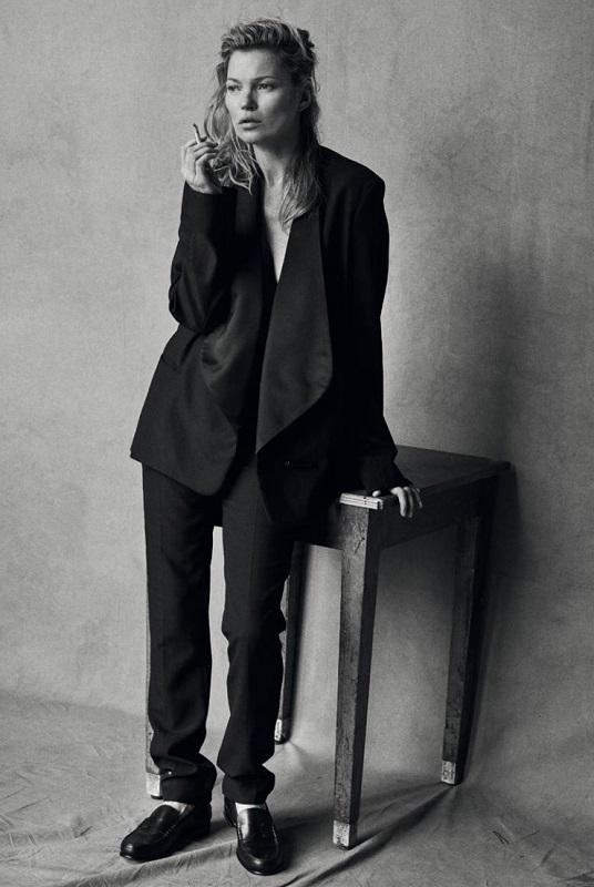 Vogue IT, Ιανουάριος 2015, Kate Moss.