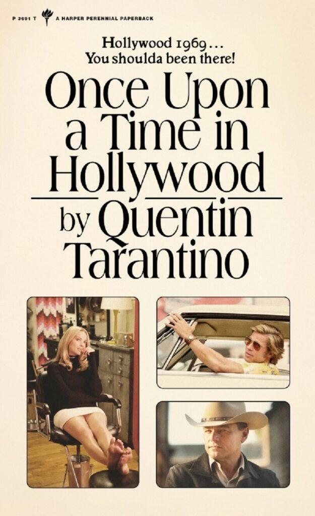 το εξώφυλλο του Once Upon A Time In Hollywood