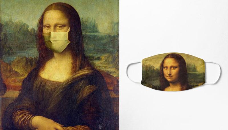 Οι μάσκες προστασίας και η θεραπευτική δύναμη της τέχνης