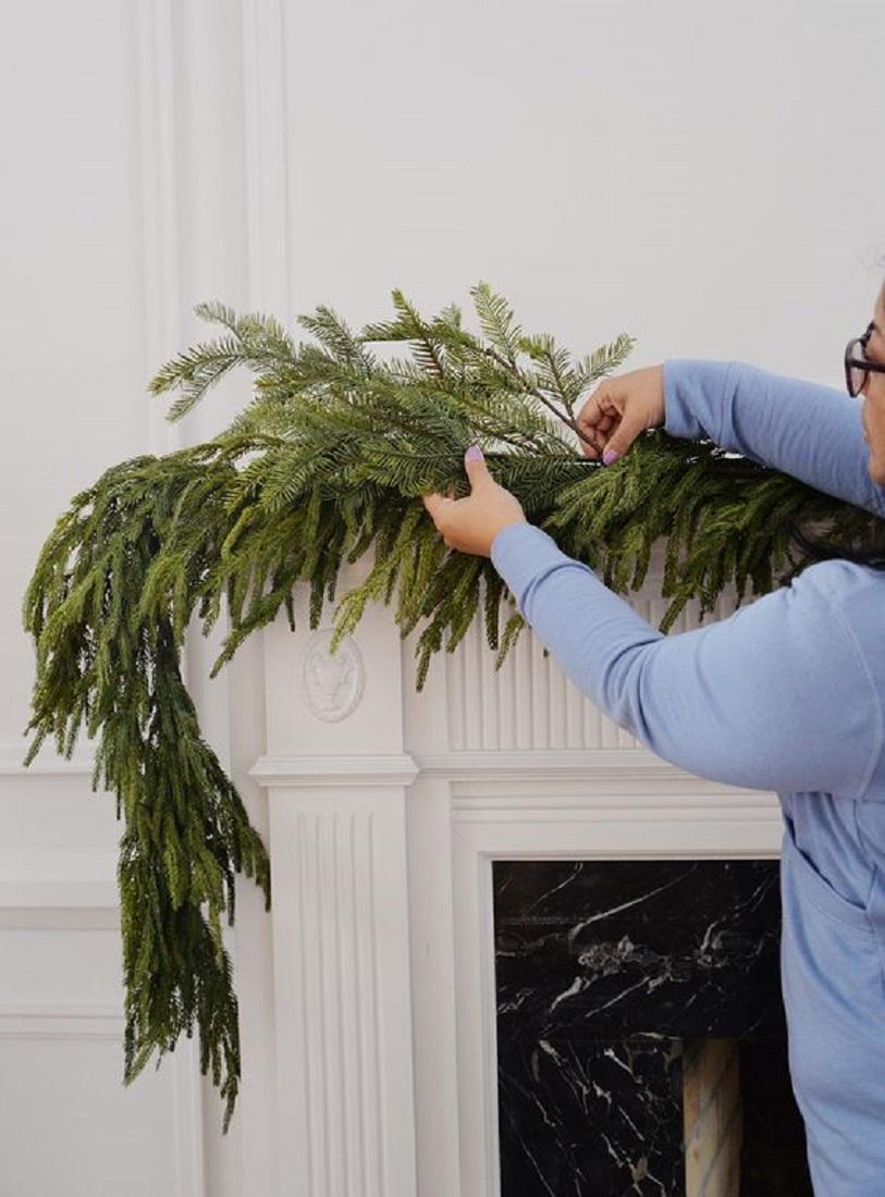 Μίνιμαλ Πρόταση για το Χριστουγεννιάτικο Τζάκι