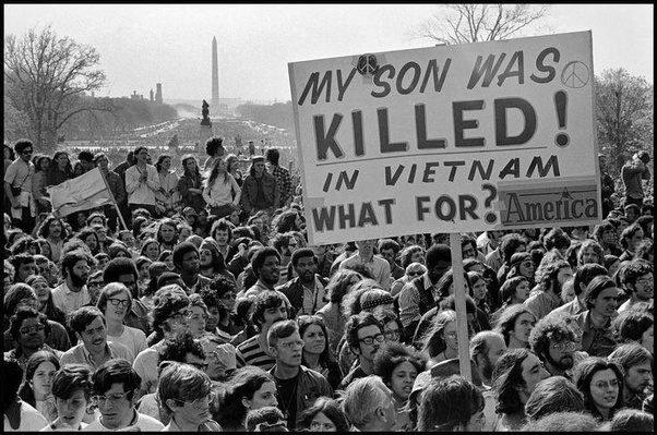 Διαδήλωση κατά του πολέμου στο Βιετνάμ