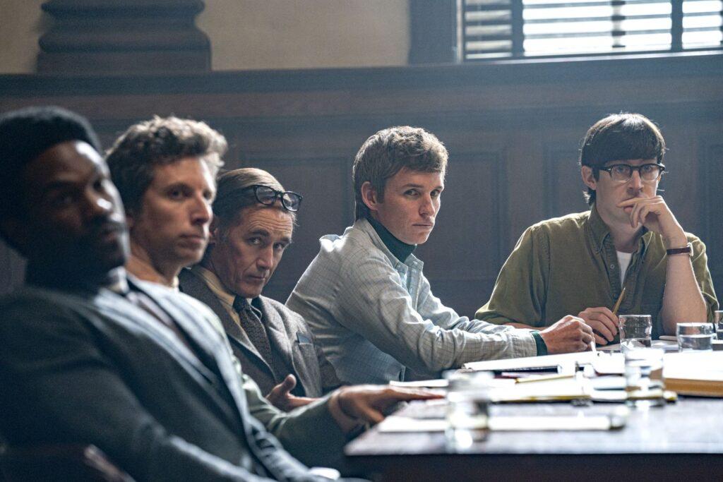 Σκηνή από την ταινία του Netflix: The trial of the Chicago Seven