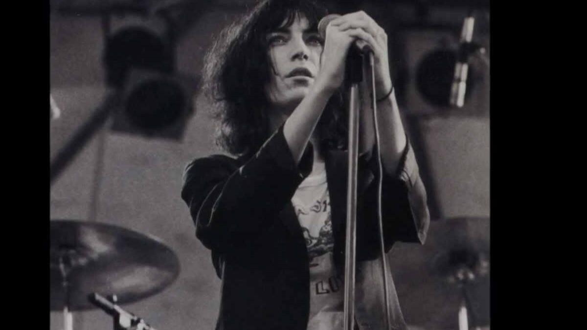 Patti Smith Live.