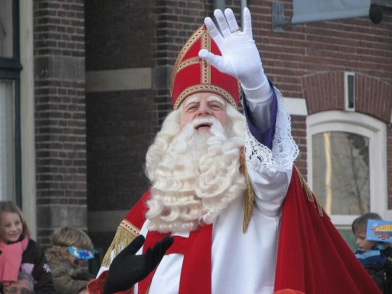 Ο St. Nicholas στην Ολλανδία