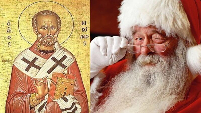 Από τον Άγιο Νικόλα στον Santa Claus