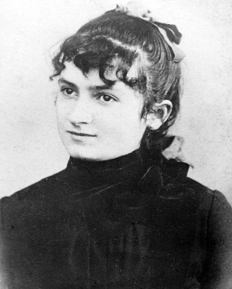 Η Μαρία Μοντεσσόρι σε νεαρή ηλικία