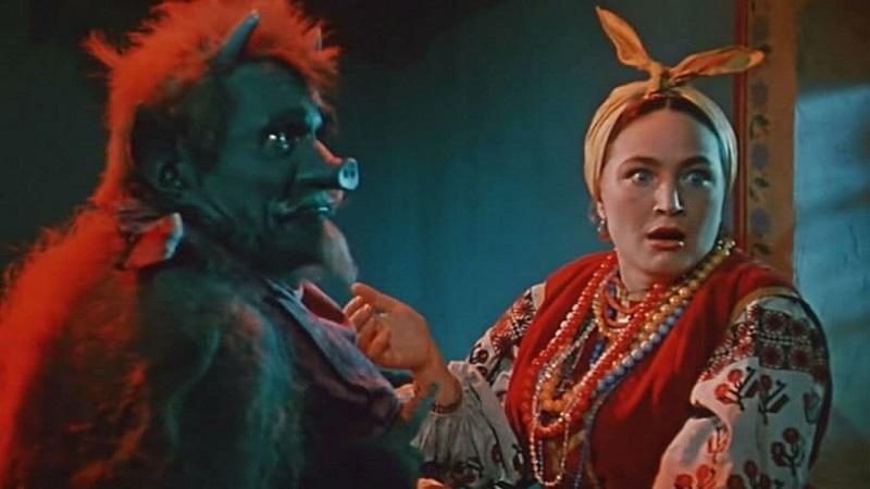 Ο διάβολος και η μάγισσα Solokha