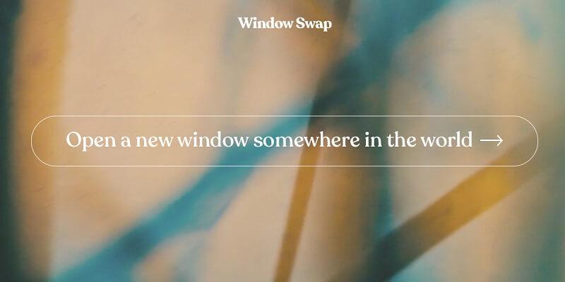 Window Swap: η εφαρμογή που σε ταξιδεύει στα παράθυρα του κόσμου