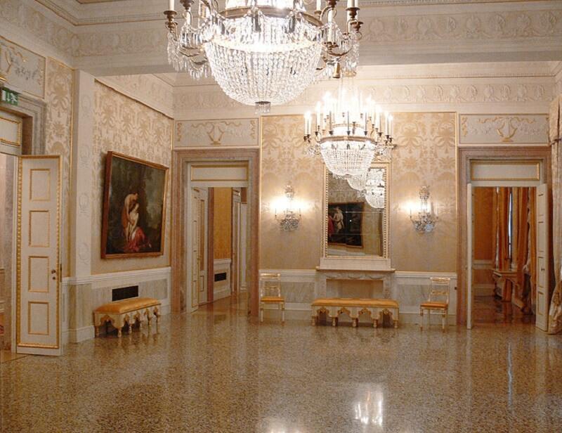 Το φουαγιέ του Teatro La Fenice