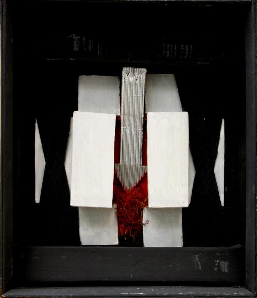 Δανιήλ Παναγόπουλος, Μαύρο Κουτί, Από τη σειρά Μαύρα Κουτιά (1961-1966), Εθνική Πινακοθήκη