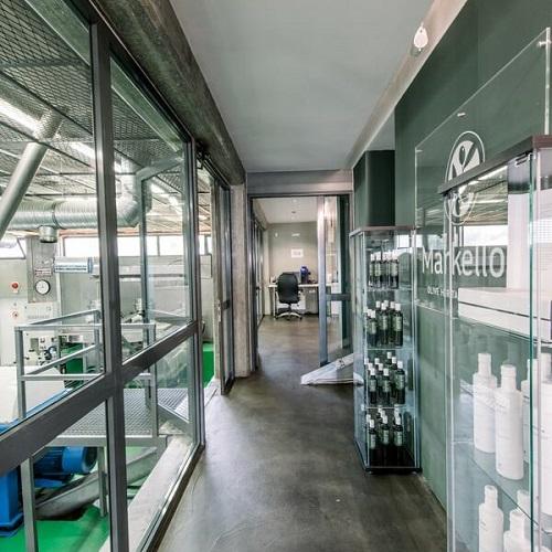 Το εσωτερικό της Εταιρείας Markellos Olive