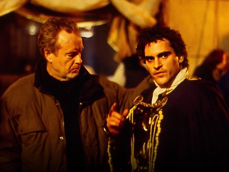 Ridley-Scott-Joaquin-Phoenix-1