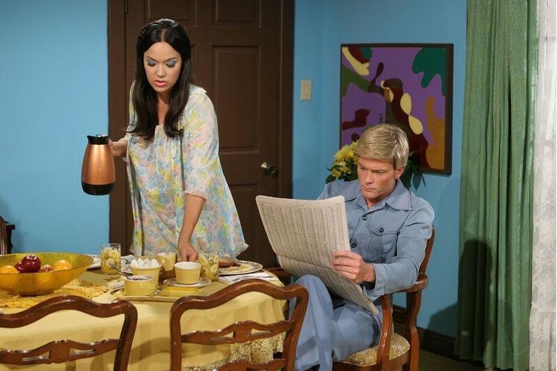 η Barbi με τον σύζυγό της Rick
