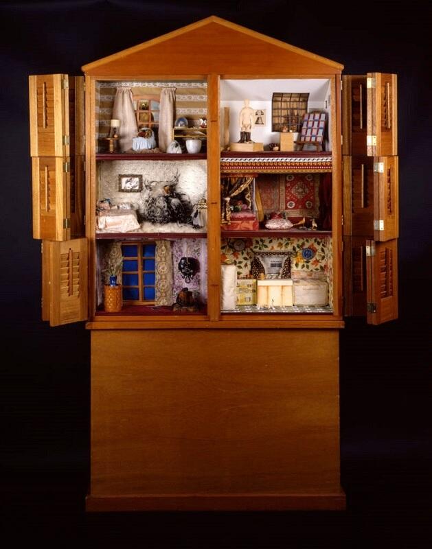 """Dollhouse"",Miriam Schapiro, 1972, Womanhouse"
