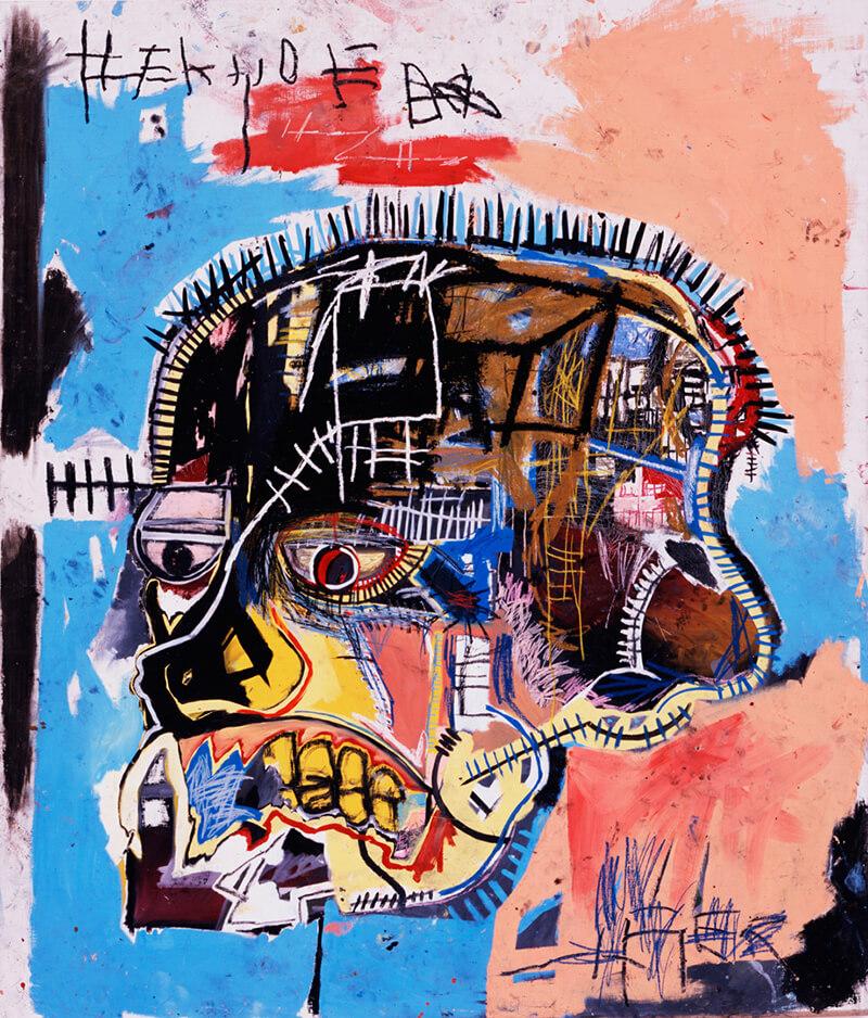 "<span style=""background-color: #ffffff; color: #313131;"">Στην τρίτη περίοδο της πορείας του ασχολήθηκε με την απεικόνιση ανθρώπινων κεφαλιών ή κρανίων και ονομάστηκε Heads. Στα έργα αυτά υπάρχουν έντονες αναφορές σε παραδοσιακές αφρικανικές μάσκες και στην ανατομία του ανθρώπινου σώματος.</span>"