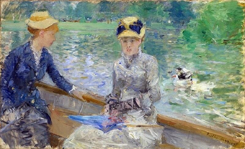 """""""A Summer's Day"""" (1879), Berthe Morisot"""