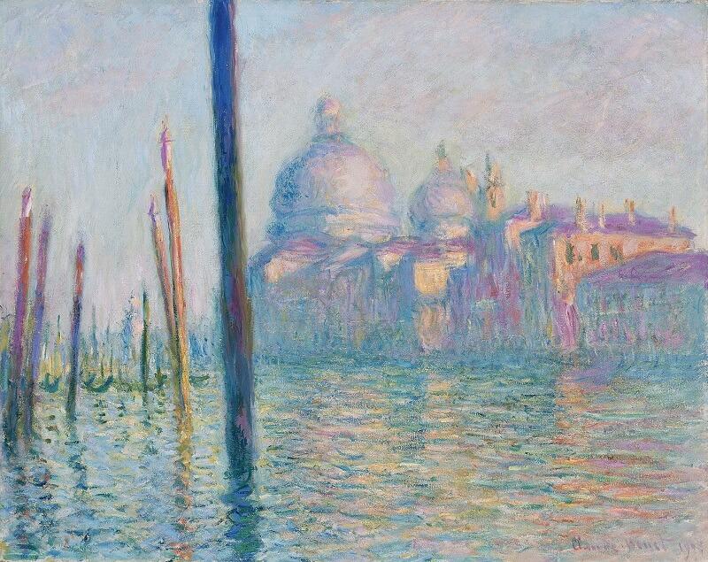"""""""Το Μεγάλο Κανάλι"""" (1908), Claude Monet"""