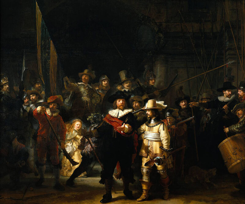 Night Watch, Rembrandt van Rijn