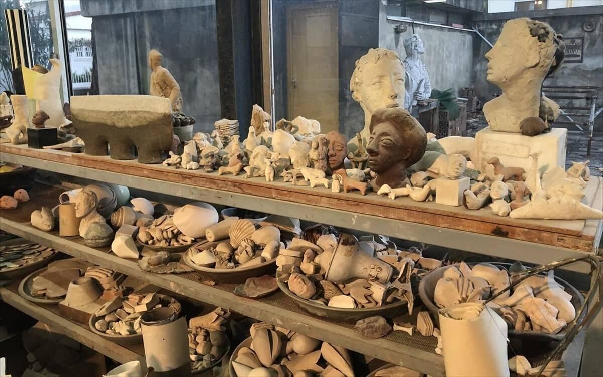 Το εργαστήριο κεραμικής της Ε. Βερναδάκη