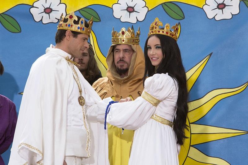 Ο μεσαιωνικός γάμος της Elaine με την Griff