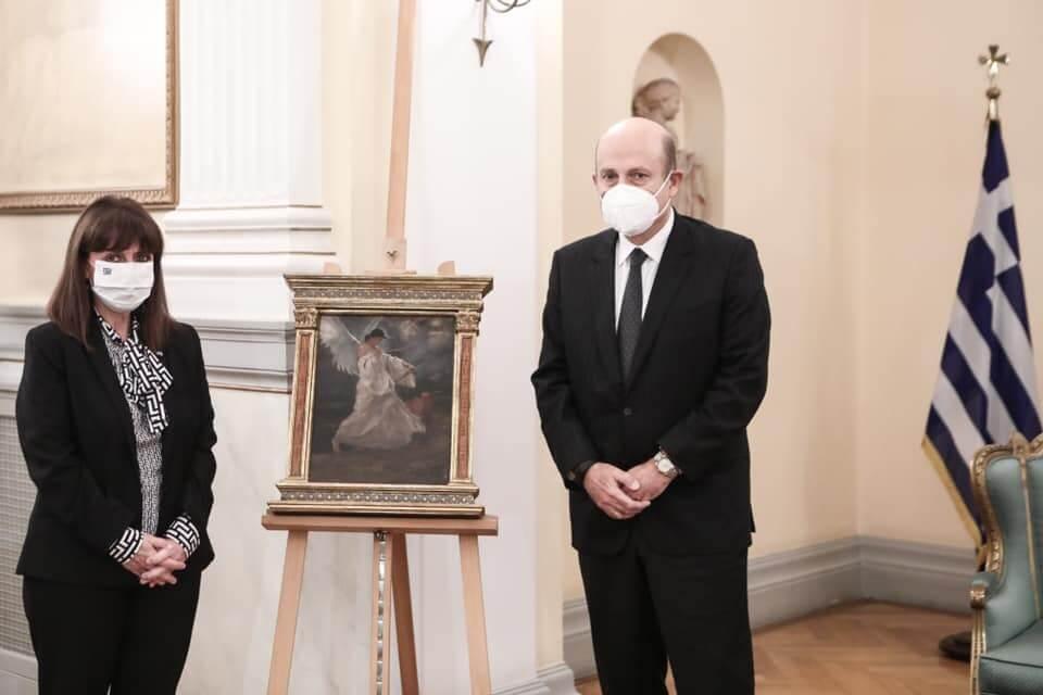 Κατερίνα Σακελλαροπούλου και Δημήτρης Γκέρτσος