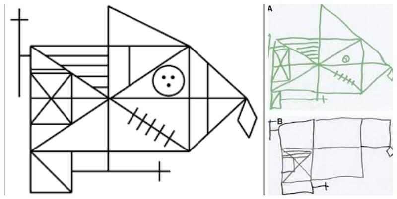 το περίπλοκο σχέδιο Rey-Osterrieth