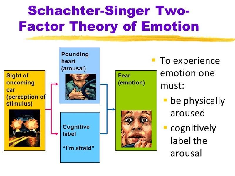 Η θεωρία δύο παραγόντων για τα συναισθήματα των Schichter και Singer