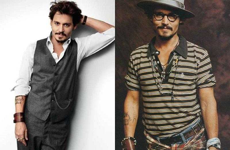 Ο λάτρης του ροκ μποέμ, Johnny Depp.
