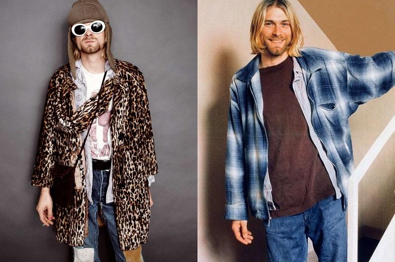 Ο εκφραστής του Grunge Style, Kurt Cobain.