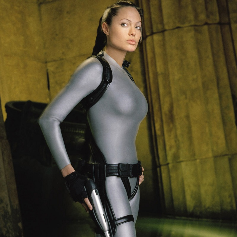 Η Angelina Jolie ως Lara Croft