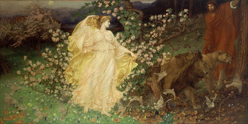 William Blake Richmond, Venus & Anchises, 1889/1890