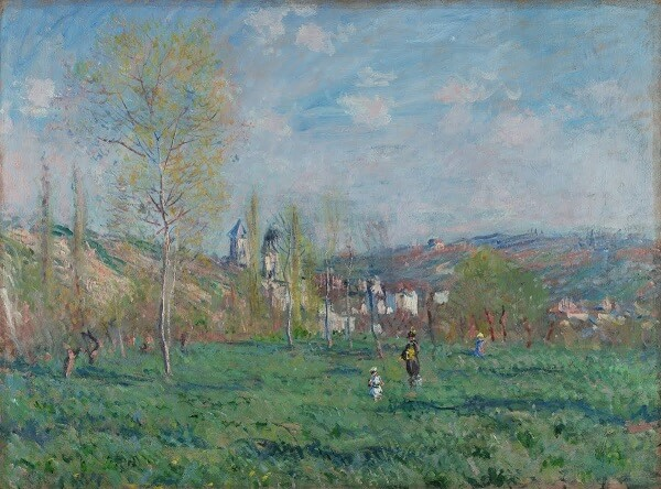 Claude Monet, Spring in Vethuil, 1880