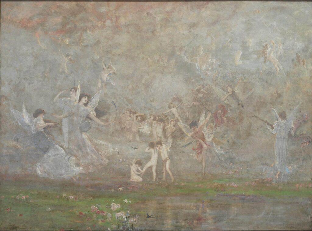Νικόλαος Γύζης, Εαρινή Συμφωνία, 1886