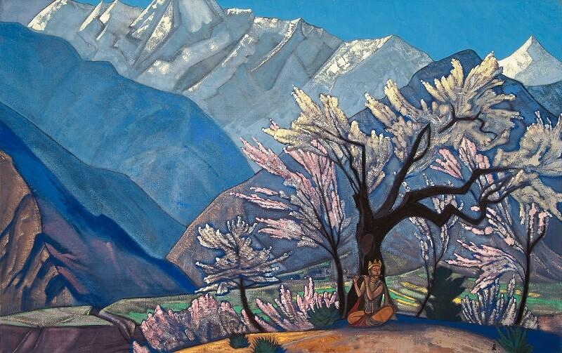 Nicholas Roerich, Krishna Spring in Kullu, 1930
