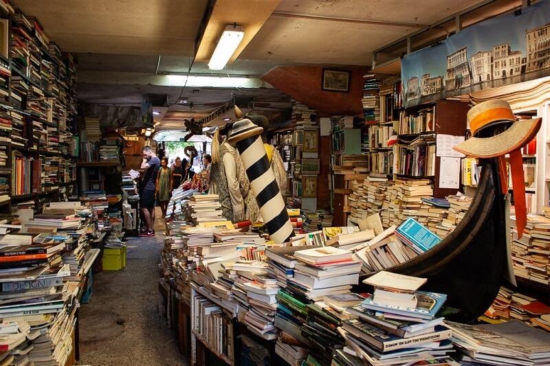 Libreria Acqua Alta, Venice, Ιταλία