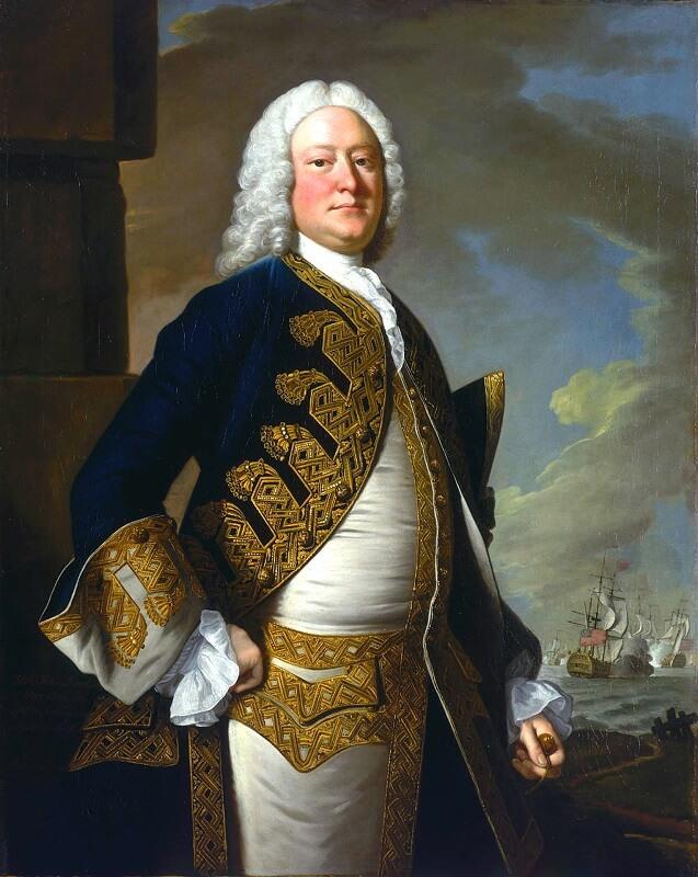 Πορτραίτο του John Byng, Ναυάρχου του Βρετανικού Στόλου (Thomas Hudson, 1749)