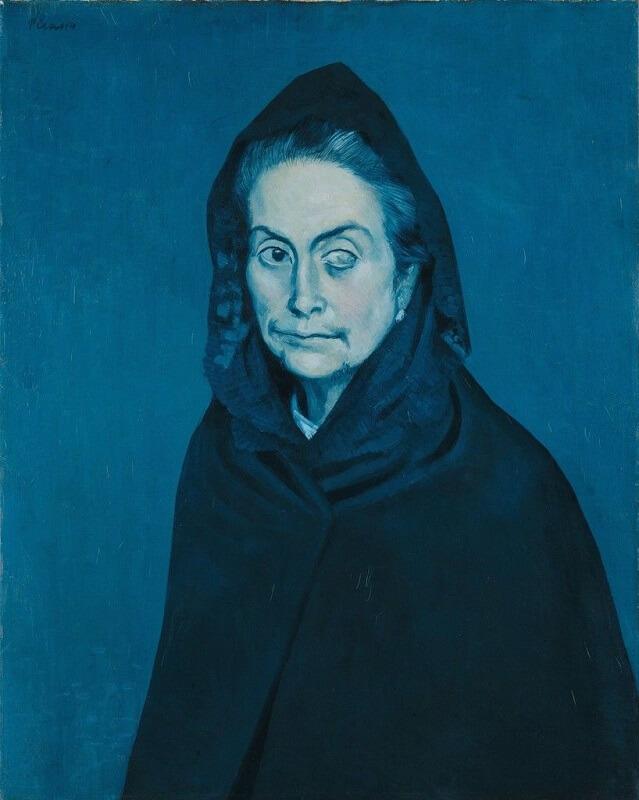 """La Célestine"", Pablo Picasso (1904)"
