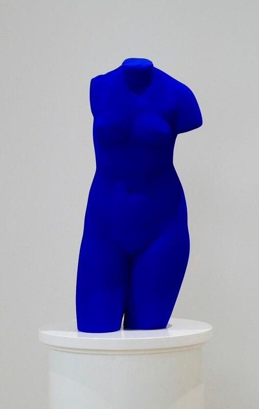 Venus Bleue (S41), Yves Klein (1962/1982)