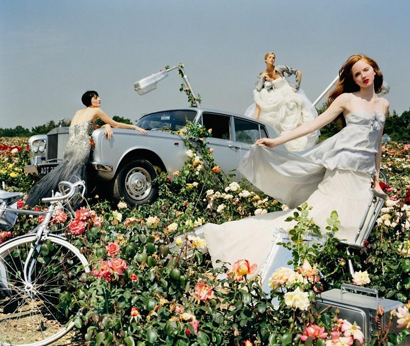 Vogue UK, 2005 με πρωταγωνίστρια την Βρετανή Lily Cole.