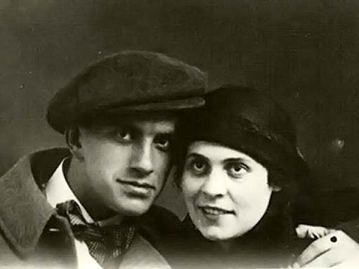 Βλαντιμίρ Μαγιακόφσκι και Λίλια Μπρικ